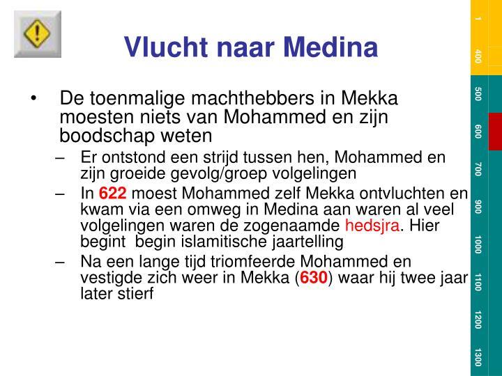 Vlucht naar Medina