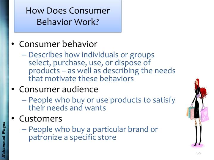 How Does Consumer Behavior Work?