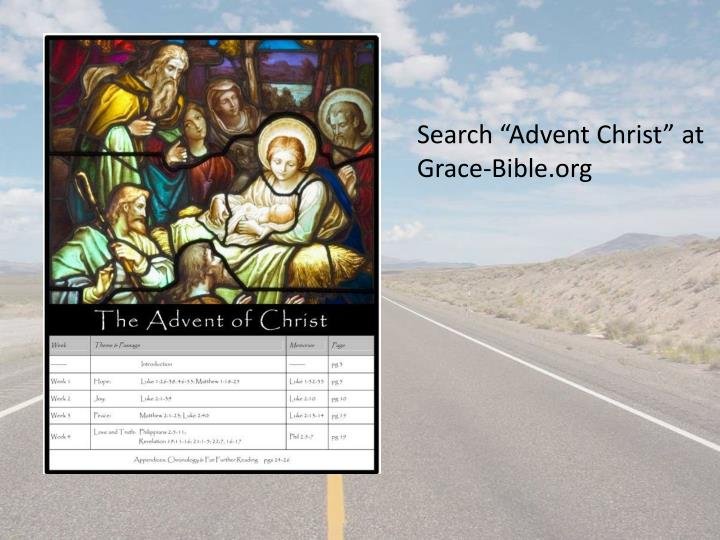 "Search ""Advent Christ"" at Grace-"