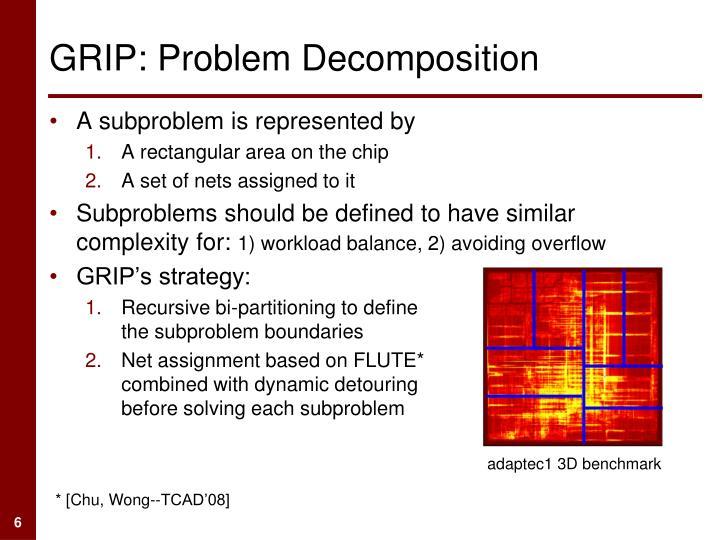 GRIP: Problem Decomposition