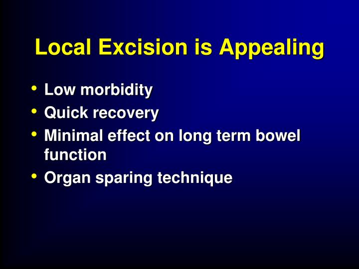 Local Excision is Appealing