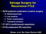 salvage surgery for recurrence ftle2