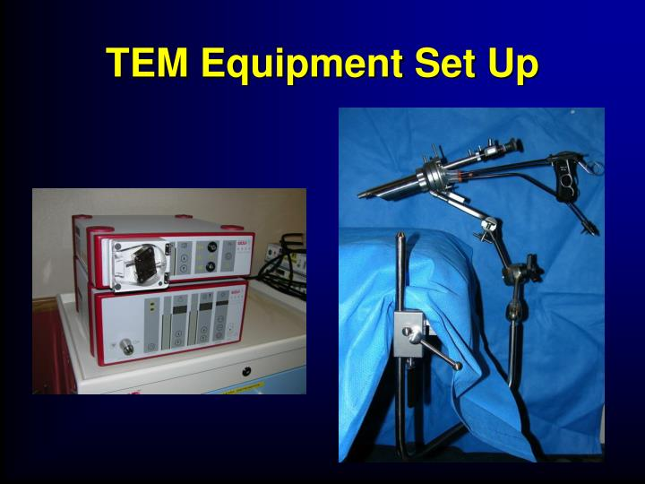 TEM Equipment Set Up