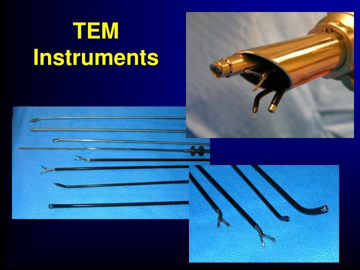 TEM Instruments