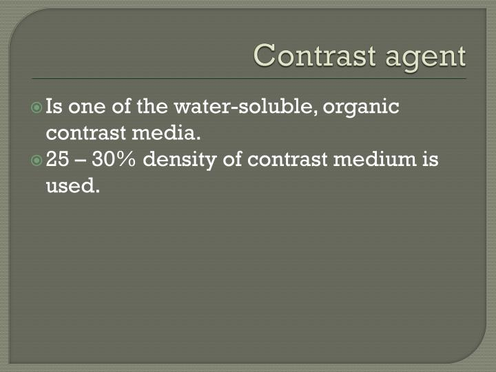 Contrast agent