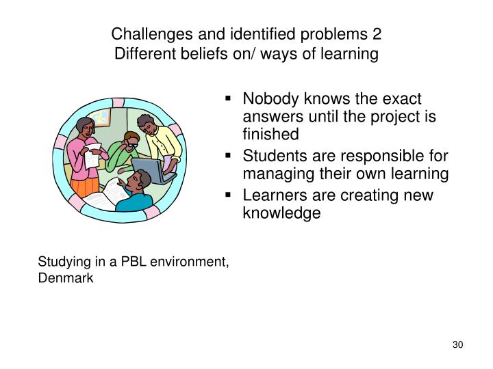 Challenges and identified problems 2