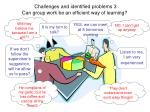 challenges and identified problems 3 can group work be an efficient way of learning