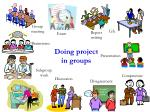 doing project in groups