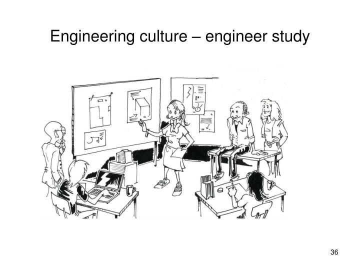 Engineering culture – engineer study