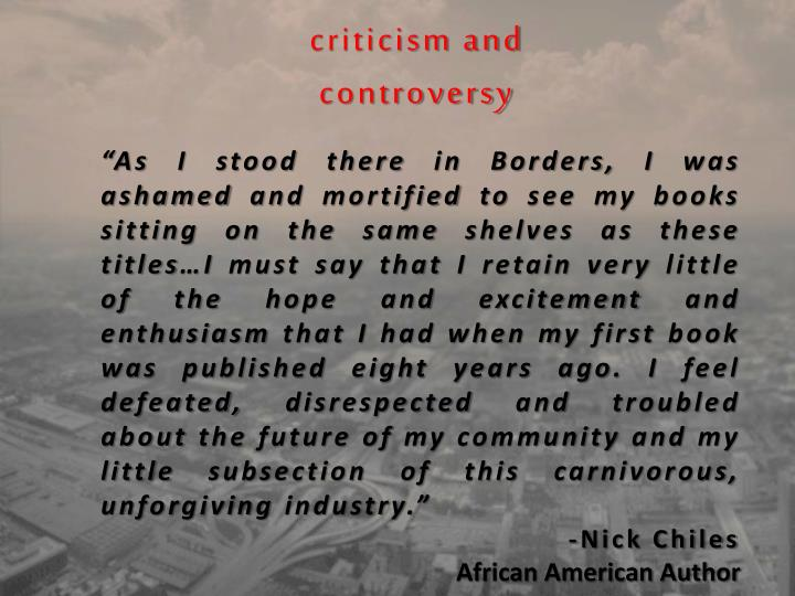 criticism and
