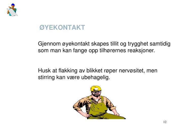ØYEKONTAKT