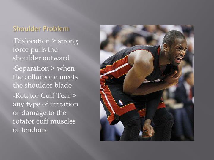 Shoulder Problem