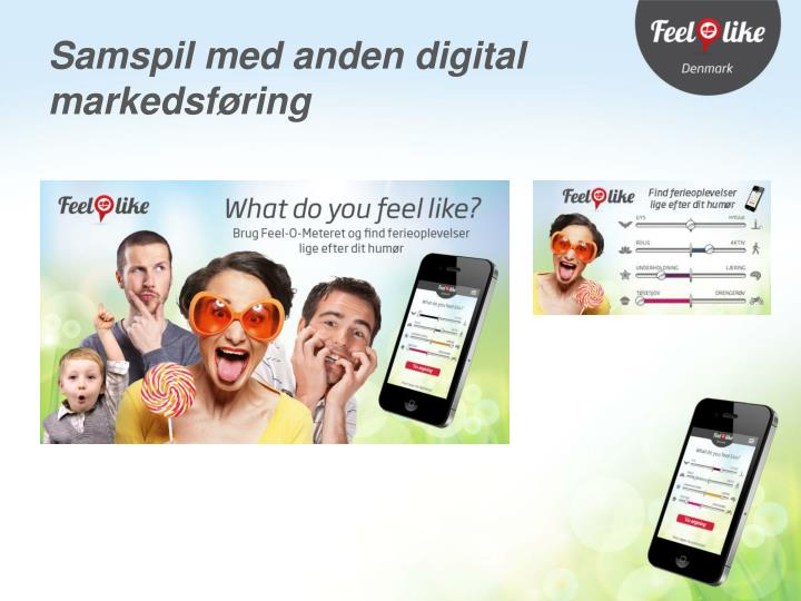 Samspil med anden digital markedsføring