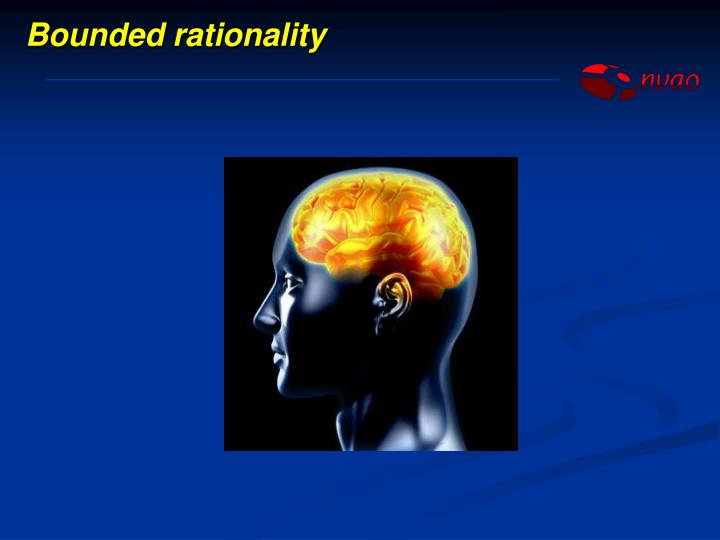 Bounded rationality