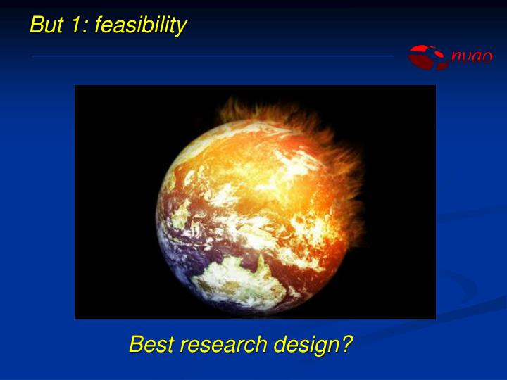 But 1: feasibility