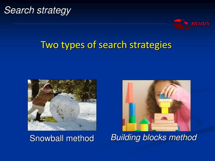 Building blocks method