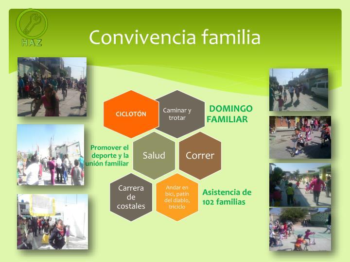 Convivencia familia