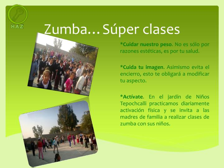 Zumba…Súper clases