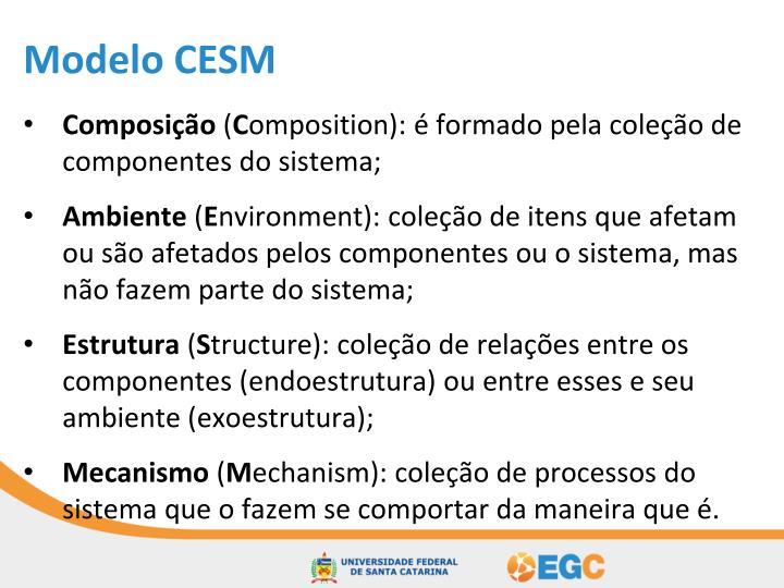 Modelo CESM