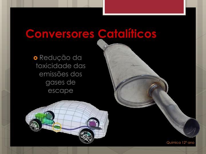 Conversores Catalíticos