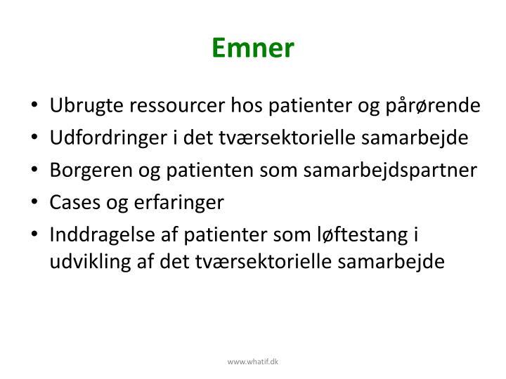 Emner