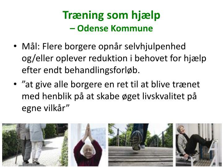 Træning som hjælp