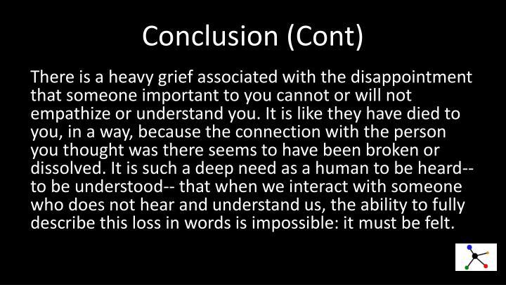 Conclusion (