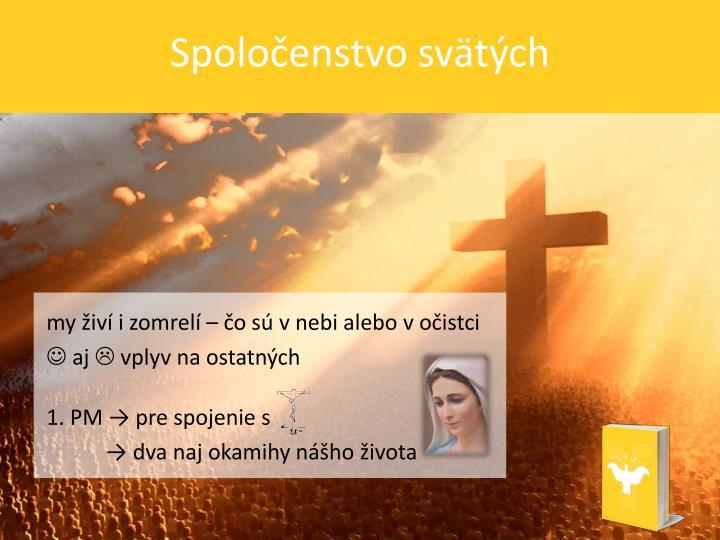 Spoločenstvo svätých