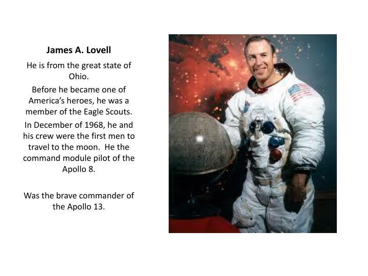 James A. Lovell