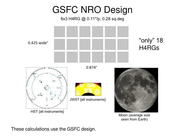 GSFC NRO Design