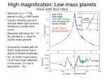 high magnification low mass planets ogle 2005 blg 169lb