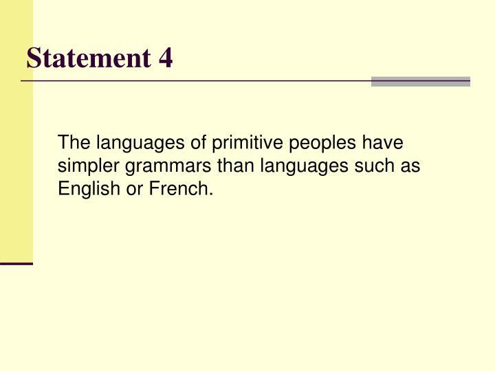 Statement 4