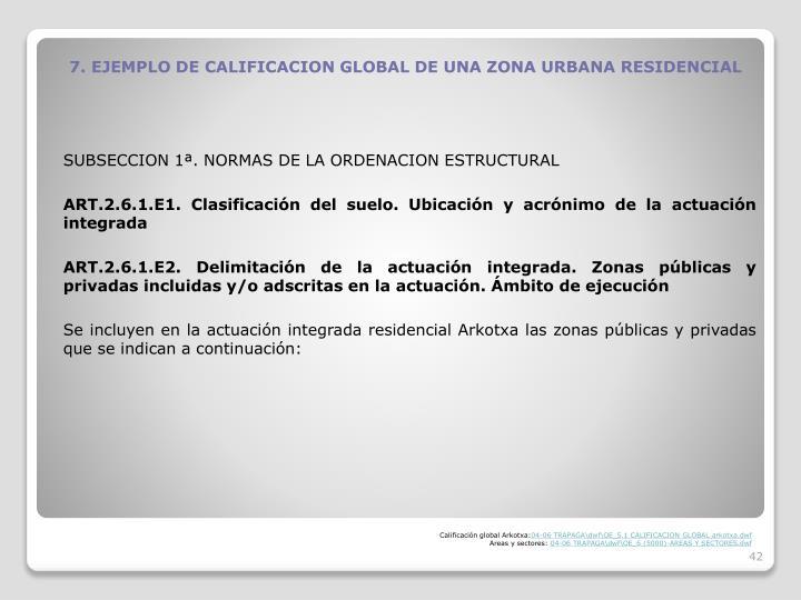 SUBSECCION 1. NORMAS DE LA ORDENACION ESTRUCTURAL