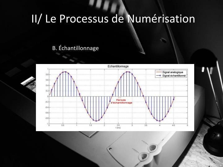 II/ Le Processus de Numérisation