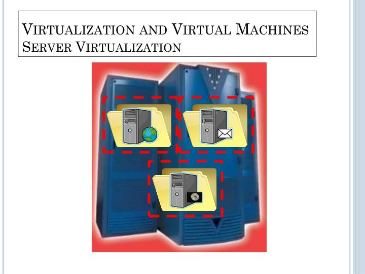 Virtualization and Virtual Machines