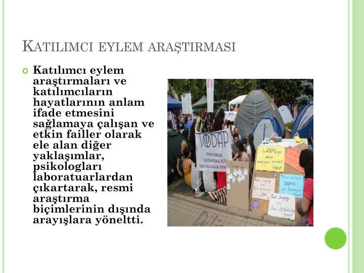 Katılımcı eylem araştırması