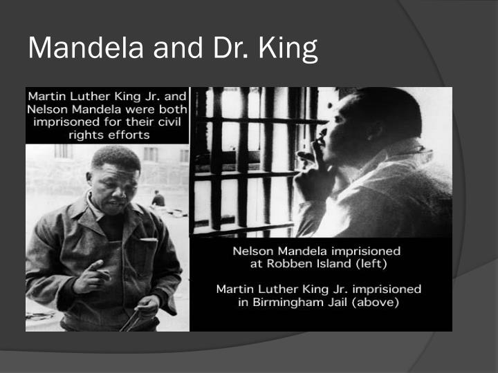 Mandela and Dr. King