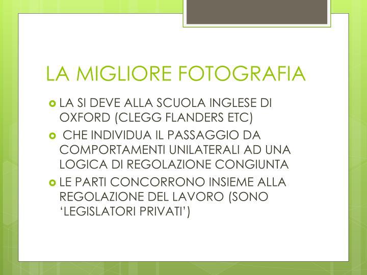 LA MIGLIORE FOTOGRAFIA