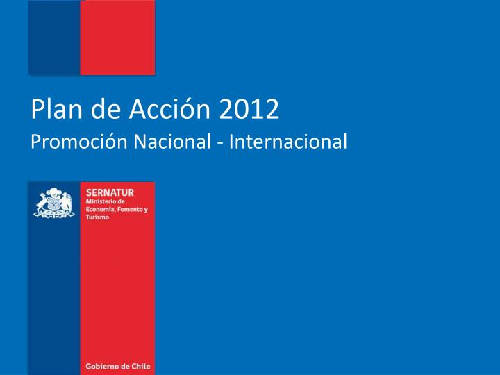 Plan de Acción 2012