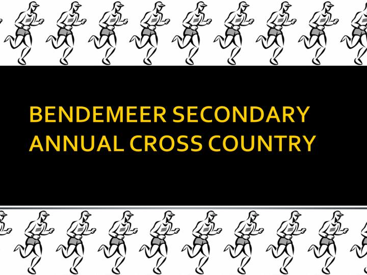 Bendemeer secondary annual cross country