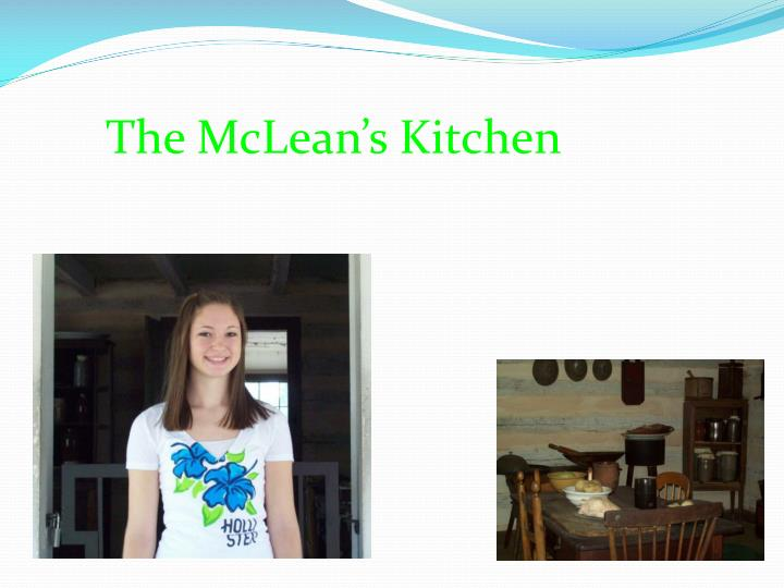 The McLean's Kitchen