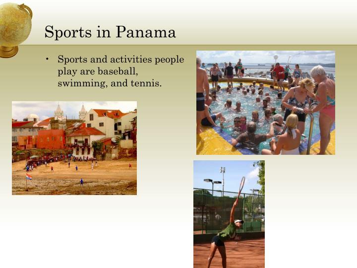 Sports in Panama