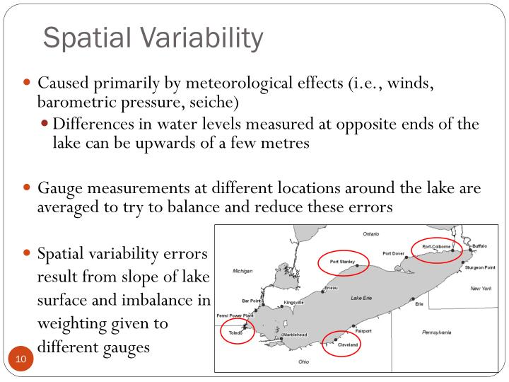 Spatial Variability