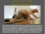 athens ga day reporting center