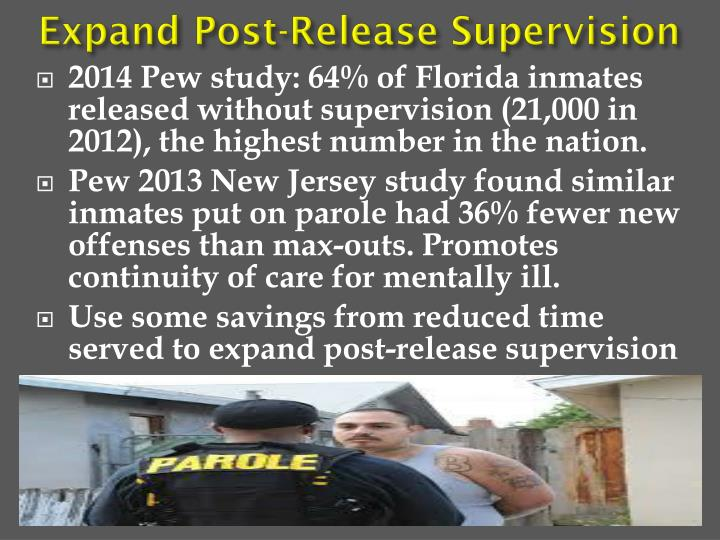 Expand Post-Release Supervision