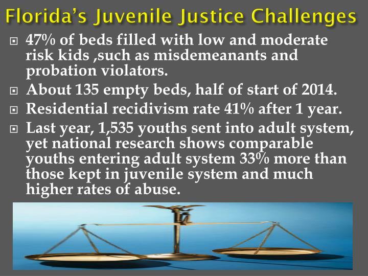 Florida's Juvenile Justice Challenges