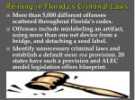 reining in florida s criminal laws
