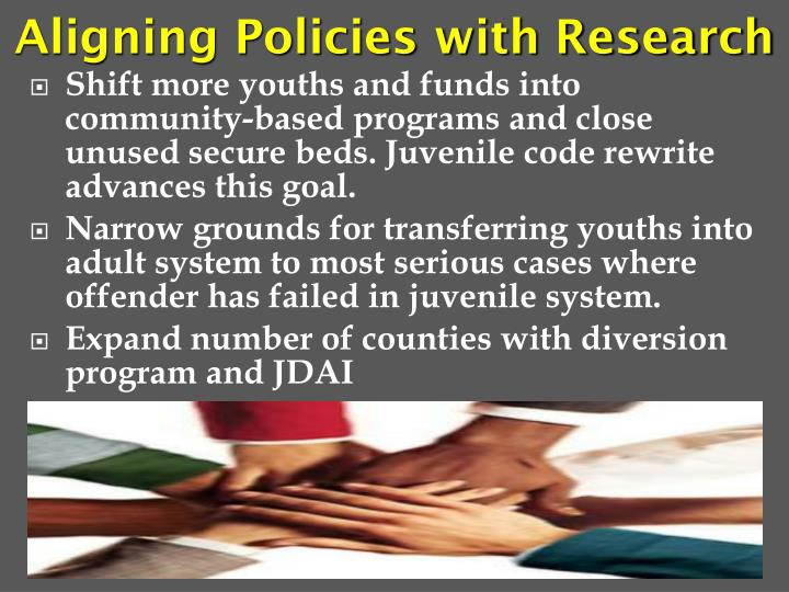 Aligning Policies with Research