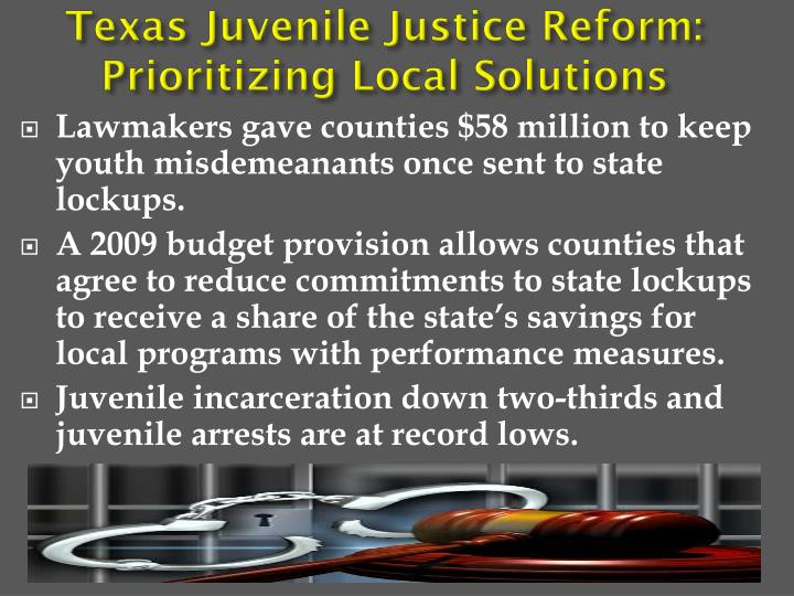 Texas Juvenile Justice
