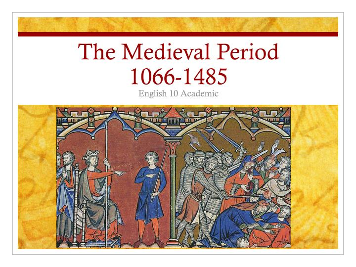 the middle ages the period of Another reason why the middle ages are often called the dark ages is because, compared with other eras, historians don't know as much about this time in some ways, this period of time has been.